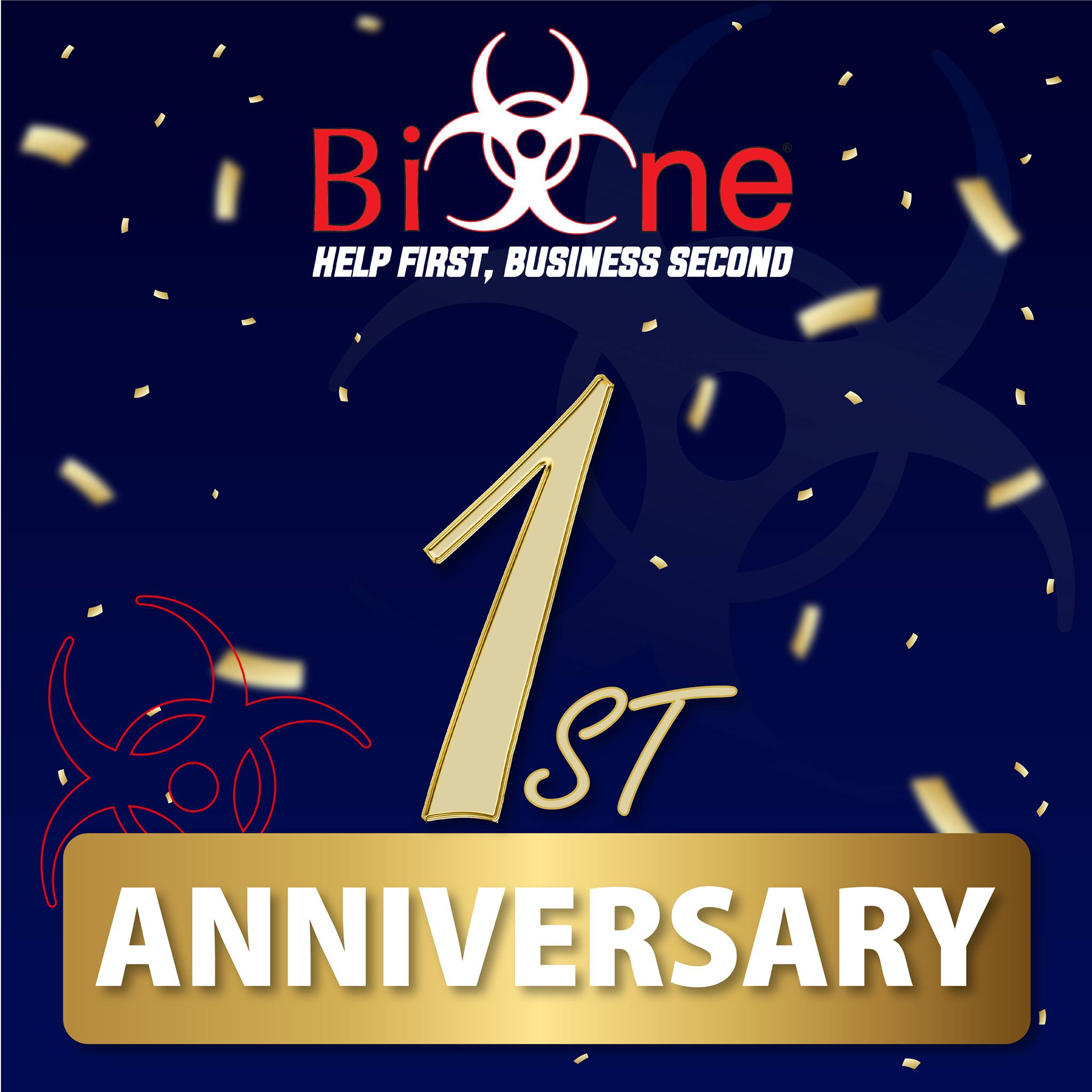 Bio-One Marion County Turns 1-Year Old Today!